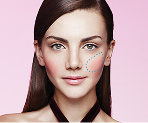 Learn how to create the Boldly Accented look using the NEW mineral cheek color duo from Mary Kay.