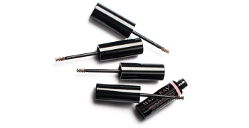 Image of four Mary Kay Volumizing Brow Tint wands along with a tube.