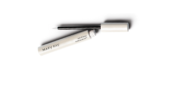 The Mary Kay Lash and Brow Building Serum opened and laying flat.
