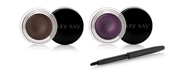 Limited-Edition Gel Eyeliner with Expandable Brush Applicator in Espresso Ink and Ornate Orchid as part of the Limited-Edition Mary Kay Fall Winter 2018 Color Collection.